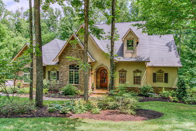 Knoxville Single Family Home For Sale: 1800 Chestnut Grove Rd