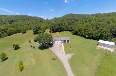 Kingston Single Family Home For Sale: 3882 W Buttermilk Rd