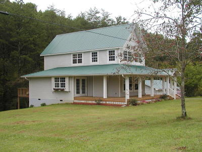 Tellico Plains Single Family Home For Sale: 1400 Reagan Valley Rd