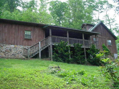Lafollette Single Family Home For Sale: 221 Low Gap Rd