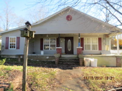 Oliver Springs Single Family Home For Sale: 806 Cemetery Rd
