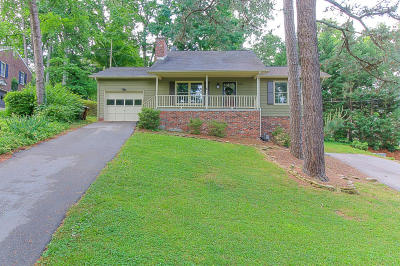 Knoxville Single Family Home For Sale: 5806 Westover Drive