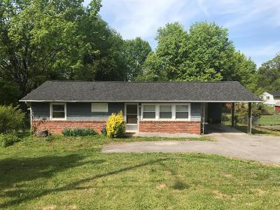 Knoxville TN Single Family Home For Sale: $99,000