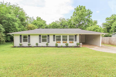 Knoxville Single Family Home For Sale: 1312 Timbergrove Drive