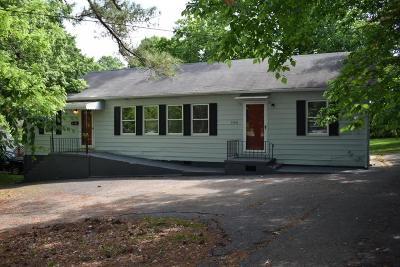 Oak Ridge Single Family Home For Sale: 160 N Illinois Ave
