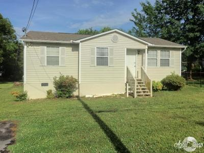 Knoxville TN Single Family Home For Sale: $99,900
