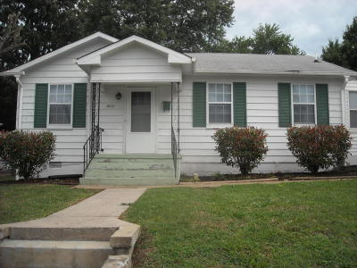 Knoxville TN Single Family Home For Sale: $78,000