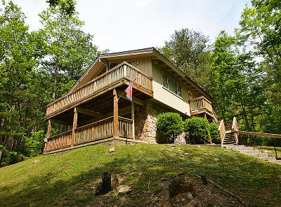 Gatlinburg Single Family Home For Sale: 715 Upper Windsor Way