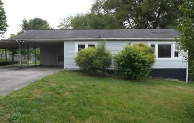 Hamblen County Single Family Home For Sale: 1462 Lakeview Circle