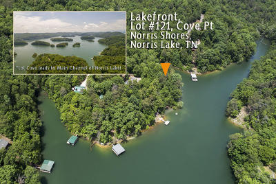 Anderson County, Campbell County, Claiborne County, Grainger County, Union County Residential Lots & Land For Sale: Lot 121 Cove Point