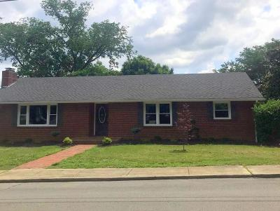 Sweetwater Single Family Home For Sale: 808 Mayes Ave