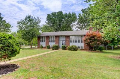 Knoxville Single Family Home For Sale: 9000 Stately Circle