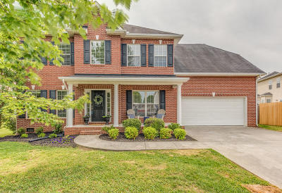 Knoxville Single Family Home For Sale: 11406 Oxford Station Lane
