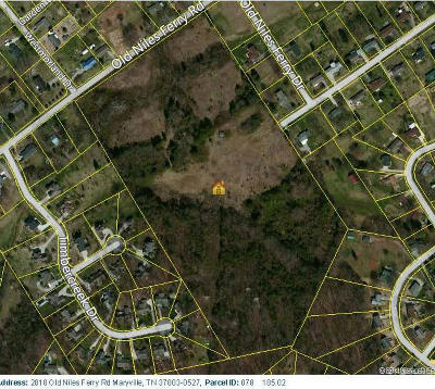 Maryville Residential Lots & Land For Sale: Old Niles Ferry Rd