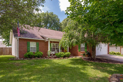 Knoxville Single Family Home For Sale: 6943 Cherry Grove Rd