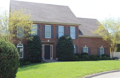 Knoxville Single Family Home For Sale: 10434 Meadow Ridges Lane