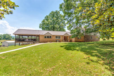 Maryville Single Family Home For Sale: 3508 E Lamar Alexander Pkwy