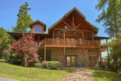 Pigeon Forge Single Family Home For Sale: 2906 Quiet Oak Way