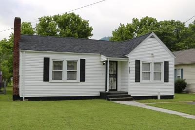 Middlesboro Single Family Home For Sale: 1703 Winchester Ave
