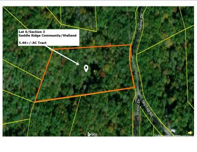 Residential Lots & Land For Sale: Walnut Flats Rd