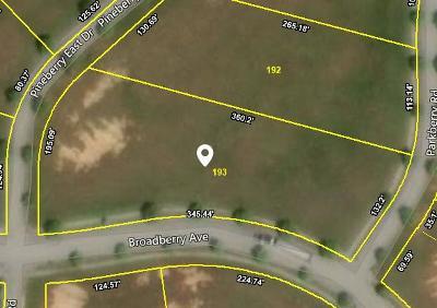 Oak Ridge Residential Lots & Land For Sale: 604 Broadberry Ave #Lot 193