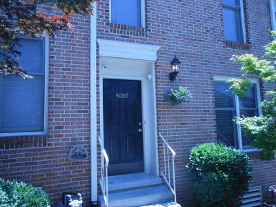 Knoxville Condo/Townhouse For Sale: 4007 Heather Court