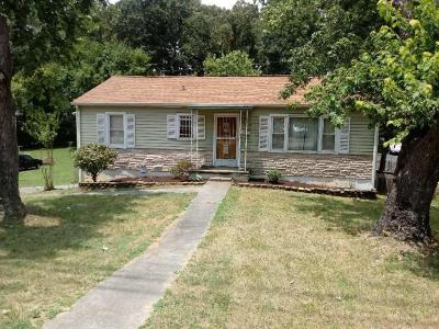 Knoxville Single Family Home For Sale: 3341 Wilson Ave