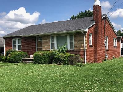Middlesboro Single Family Home For Sale: 1807 Winchester Ave