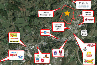 Tazewell Residential Lots & Land For Sale: 1820 Old Knoxville Rd