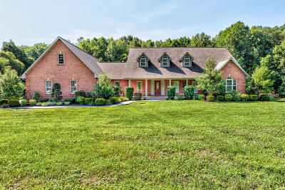 Single Family Home Pending - Continue To Show: 818 Cross Valley Rd