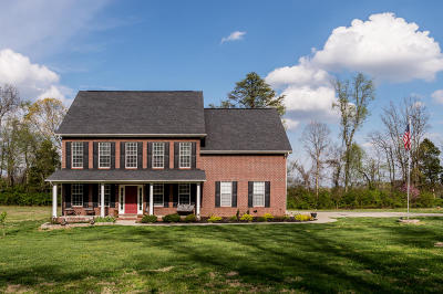 Lenoir City Single Family Home For Sale: 13173 Old Stage Rd