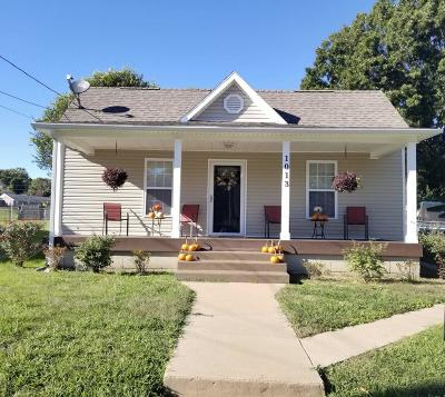 Morristown Single Family Home For Sale: 1013 East 3rd North St