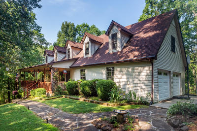 Single Family Home For Sale: 869 Dickey Valley Rd