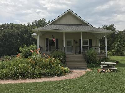 Madisonville Single Family Home For Sale: 250 Little Notchey Creek Rd Rd