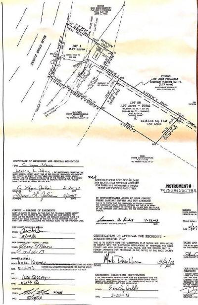 Knoxville TN Residential Lots & Land For Sale: $49,700