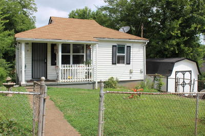 Knoxville TN Single Family Home For Sale: $70,000