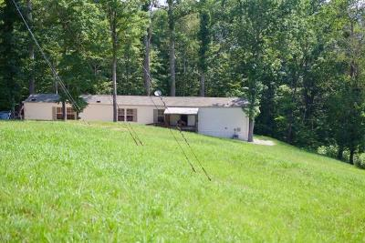 Campbell County Single Family Home For Sale: 2389 Shady Cove Rd