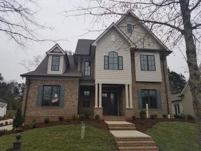 Knoxville Single Family Home For Sale: 10518 Leadenhall Gardens Way