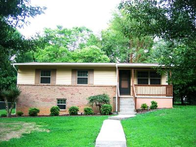 Knoxville TN Single Family Home Pending - Continue To Show - I: $179,000