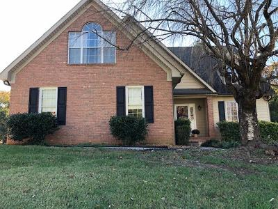 Knoxville Single Family Home For Sale: 1317 Shadybrook Cove Lane