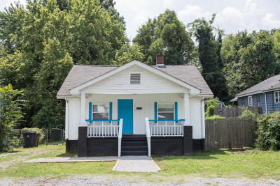 Knoxville TN Single Family Home For Sale: $85,000