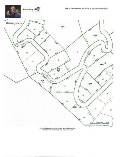 Sevierville Residential Lots & Land For Sale: Lot 56 Bear Mtn Lane
