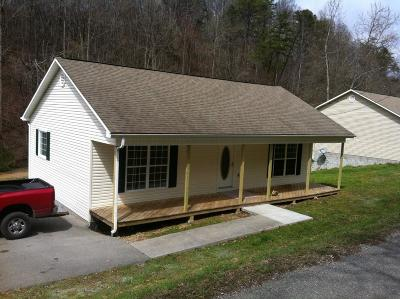 Lafollette Single Family Home For Sale: 1109 Low Gap Rd