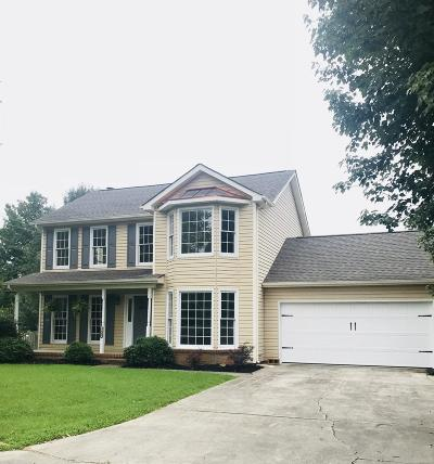 Knoxville Single Family Home For Sale: 7640 Windy Knoll Drive