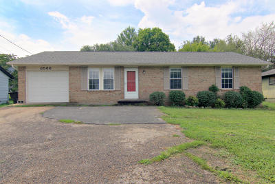 Knoxville Single Family Home For Sale: 8538 Middlebrook Pike