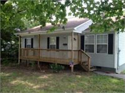 Knoxville Single Family Home For Sale: 1805 Branner St