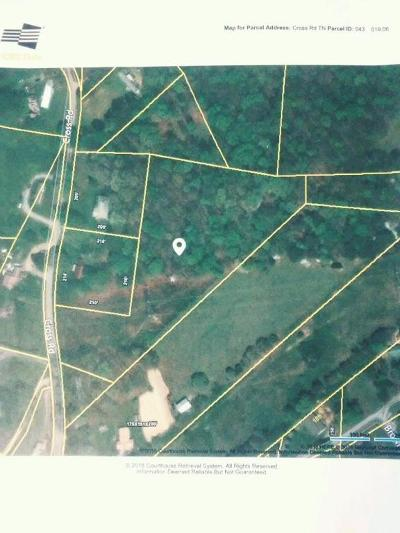 Grainger County Residential Lots & Land For Sale: 0 Cross Rd. Rd
