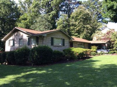 Knoxville Single Family Home For Sale: 224 Sarvis Drive