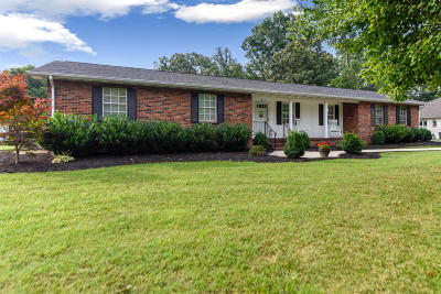 Maryville Single Family Home For Sale: 2630 Tellico St