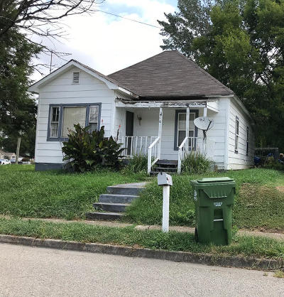 Maryville TN Single Family Home For Sale: $44,900